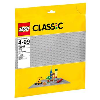 LEGO Classic Сива основна плоча, Grey Baseplate, 10701