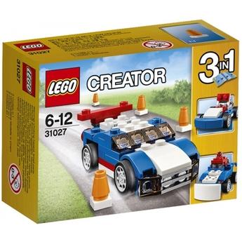 LEGO CREATOR Син състезател Blue Racer, 31027