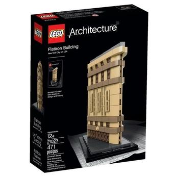 LEGO Architecture Флатайрън Билдинг Flatiron Building, New York, 21023