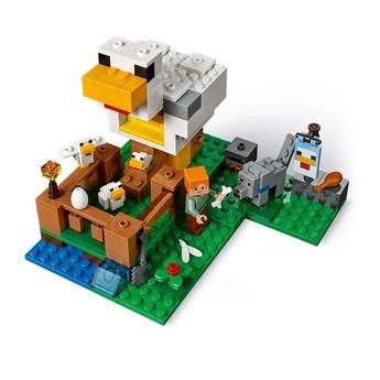 LEGO Minecraft Кокошарник, The Chicken Coop, 21140