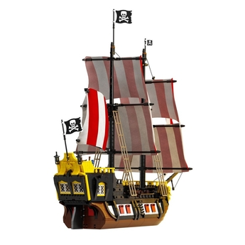 LEGO IDEAS Пирати от залива Баракуда, Pirates of Barracuda Bay, 21322