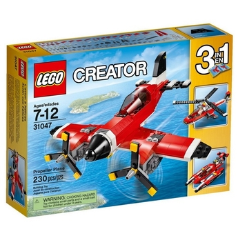 LEGO CREATOR Самолет с перки Propeller Plane, 31047