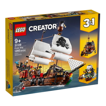 LEGO CREATOR Пиратски кораб, Pirate ship, 31109