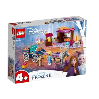 LEGO DISNEY FROZEN II Елза и каляската с елени, Elsa and the Reindeer Carriage, 41166