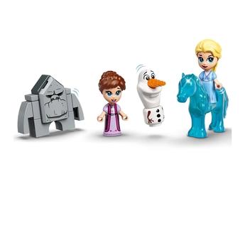LEGO DISNEY FROZEN II Приключения от книгата за Елза и Нок, Elsa and the Nokk Storybook Adventures , 43189