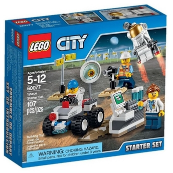 LEGO CITY SPACE PORT Стартов комплект Starter Set - 60077