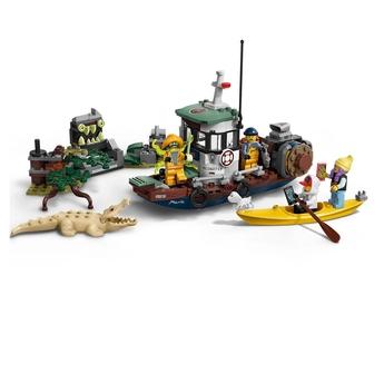 LEGO Hidden Side Разбита лодка за скариди, Wrecked Shrimp Boat, 70419