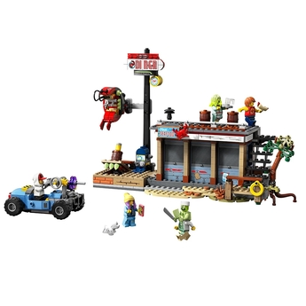 LEGO Hidden Side Нападение в ресторанта за скариди, Shrimp Shack Attack , 70422
