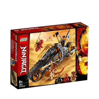 LEGO NINJAGO Офроуд мотоциклета на Кол, Cole's Dirt Bike, 70672