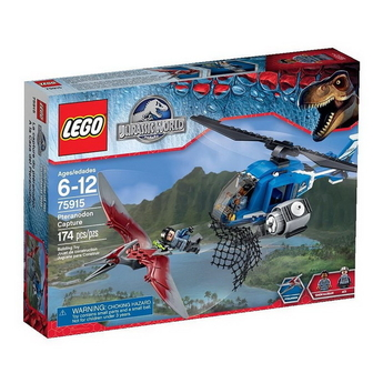 LEGO Jurassic World Лов на Птеранодон Pteranodon Capture Set - 75915