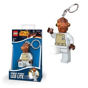 LEGO Star Wars Ключодържател с LED светлина ADMIRAL ACKBAR