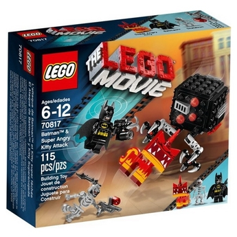 LEGO The Movie Атаката на Батман и Супер ядосана Писана Batman & Super Angry Kitty Attack, 70817
