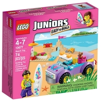 LEGO JUNIORS Пътуване до плажа Beach Trip, 10677