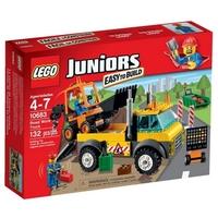 LEGO JUNIORS Камион за пътно строителство Road Work Truck, 10683