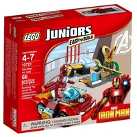 LEGO JUNIORS Железният човек срещу Локи Iron Man vs. Loki, 10721