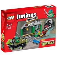 LEGO JUNIORS Леговището на костенурките Turtle Lair, 10669