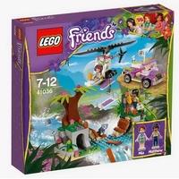 LEGO Friends Спасяване при моста в джунглата Jungle Bridge Rescue, 41036