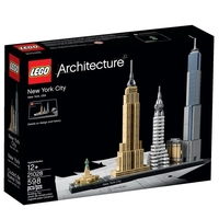 LEGO Architecture НЮ ЙОРК Сити New York City, 21028