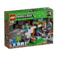 LEGO Minecraft Пешерата на зомбитата, The Zombie Cave, 21141