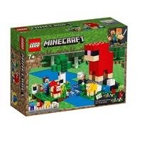 LEGO Minecraft Ферма за вълна, The Wool Farm, 21153