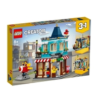 LEGO CREATOR Магазин за играчки 3в1, Townhouse Toy Store, 31105