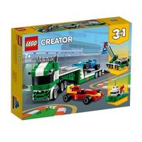 2021 LEGO CREATOR Aвтовоз за състезателни коли 3в1, Race Car Transporter, 31113