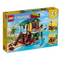 2021 LEGO CREATOR Плажна къща за сърфисти 3в1, Surfer Beach House, 31118