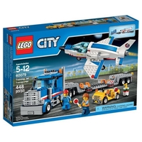LEGO CITY SPACE PORT Транспортьор Training Jet Transporter, 60079