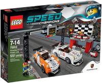 LEGO SPEED Champions Финалът на Porsche 911 GT Finish Line - 75912